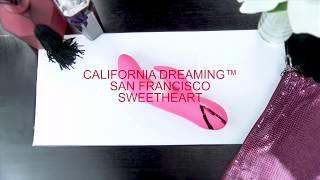 video Vibrátor s králíčkem a pohyblivou špičkou San Francisco Sweetheart
