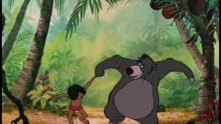 """Le Livre de la Jungle - Extrait Exclusif : Chanson """"Il en faut peu pour être heureux"""" - Baloo"""