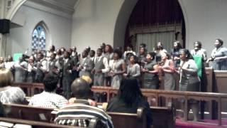 Howard Gospel Choir Southampton October 2012