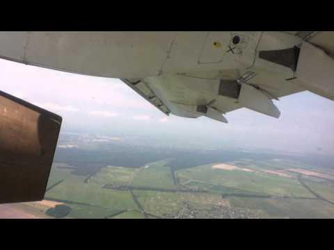 Ukraine International Airlines Antonov 148 taking off from Kiev