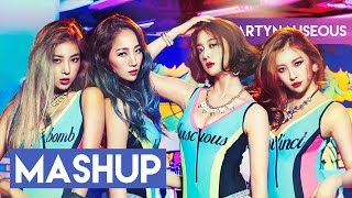 Thank You Wonder Girls! (mashup)