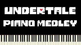 Undertale - Piano Medley