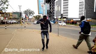 Mr Eazy-Miss you bad ft Burner Boy dance choreography by alphie danceprince