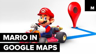 You Can Now Unlock Mario Inside of Google Maps