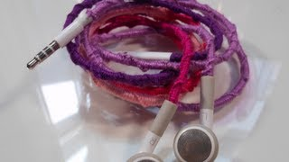 DIY: Personalized Headphones  ♡ Theeasydiy #Crafty