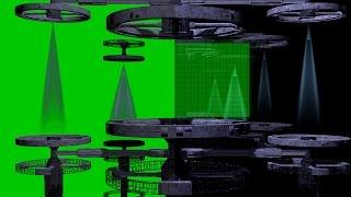 4K SCI-FI Free Intro Template Free Green Screen Source