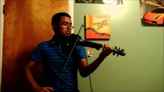MAGIC! - Rude, electric violin cover by Steve Ramsingh