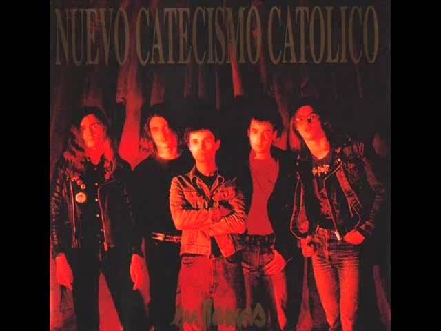 """Disco completo del álbum """"En llamas"""" de Nuevo Catecismo Católico."""