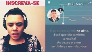 Cante com Felipe Araújo - Amor Da Sua Cama - Karaokê smule
