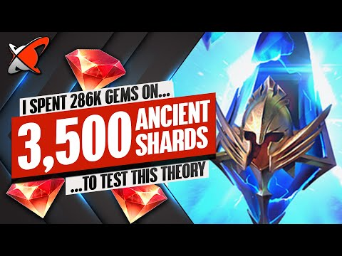 3,500 ANCIENTS OPENED ON MY ACCOUNT !! (Test Server) | Drop Rates Analysis | RAID: Shadow Legends