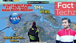 16 Facts about Pubg mobile ft:facttechz | dedicated video about Pubg fact | #facttechz