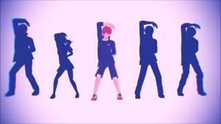 【MMDFREE!】『フリー!』MOMO ・ RIN ・ HARU ・ GOU ・ SOUSUKE | GET UP & MOVE