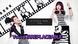 15&  irreplaceable with lyrics]