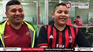 Marcos Hernádez, padre e hijo en el mismo equipo Barca de Chicago