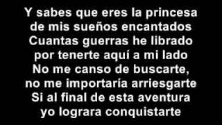David Bisbal - Mi princesa. (Con la letra)...