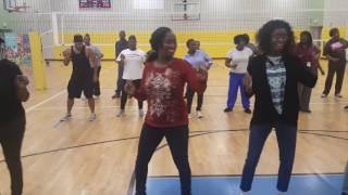 Doin' Me Line Dance @ KWL Steppers L9W SANCHEZ Center Line Dance Class