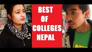 Best Comedy Video of Colleges Nepal | Jibesh and Riyasha | Filmy Guff