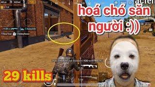 PUBG Mobile - Tiếp Tục 1 Siêu Phẩm Solo Squad 29 Kills | Hóa Chos Săn Người