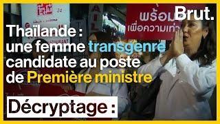 Thaïlande : Pauline Ngarmpring, 1re femme transgenre candidate au poste de Première ministre