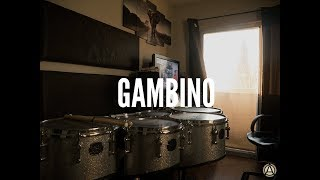 This is America by Childish Gambino - Drum Cover (for quads)