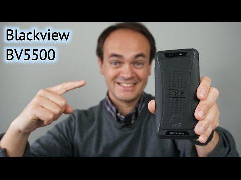 Blackview bv5500 ip68 impermeável à prova de choque telefone móvel