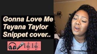 Gonna Love Me Cover-Teyana Taylor