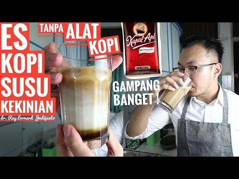 Download Video ES KOPI SUSU KEKINIAN Tanpa Alat Kopi ! - RESEP Dr. Ray Leonard Judijanto
