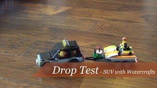 Drop Test - Lego City SUV with Watercraft Set #60058