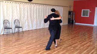 TANGO SOUL TEACHING - Learn Tango - Walk Intro and floor craft