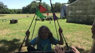 Royal Oak Spider Web Swing with Flags!
