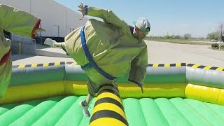 Giant Sumo Battle | Dude Perfect width=