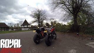 Husqvarna Nuda 900R vs KTM 1290 Super Duke R - Rev Battle - Summon the weather Gods