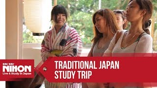 """Go! Go! Nihon's """"Traditional Japan"""" Course for Japanese Language Study and Cultural Immersion"""