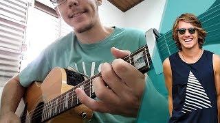 O SOL - Vitor Kley -- Violão Instrumental (com letra e cifra) - Karaokê Acústico