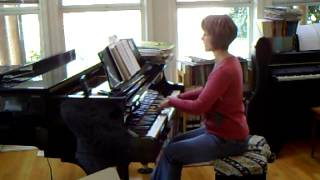 Ubi Caritas et amor ELW 642 (practice video for solo descant parts)