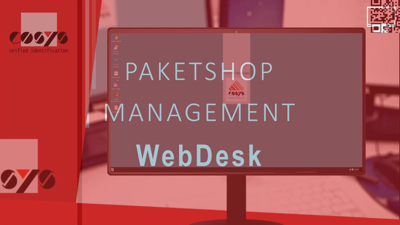 Paketshop Management mit dem WebDesk   COSYS Paketshop Management WebDesk