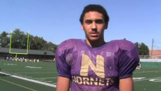 Interview with North Kansas City Hornets Football player Kevin Ewing
