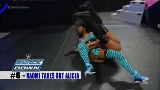 Naomi - Top 10 Smackdown Moments