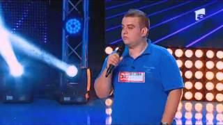 """Alexandru Pop si-a propus sa cante trei """"acapele"""" la X Factor! Vezi ce a iesit!"""
