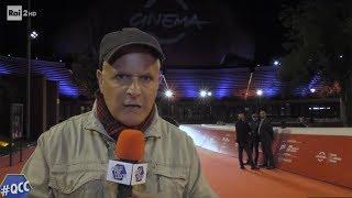 Enrico Lucci alla Festa del Cinema di Roma - Quelli che il calcio 27/10/2019