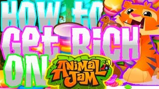 HOW TO GET GEMS FAST AND EASY! + DAILY SPIN TRICK!  (Animal Jam)