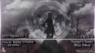Naruto Shippuden OST 3 - Track 20 - Walking To Perdition ( 2nd version )