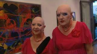 """EVA & ADELE   """"Ladykiller""""   2010 in der Galerie Rimmer in Velden am Wörthersee"""