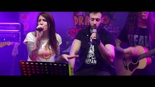 OCCHI DI GATTO sigla LIVE! - DRAGO SHENROCK Cartoon Rock Band