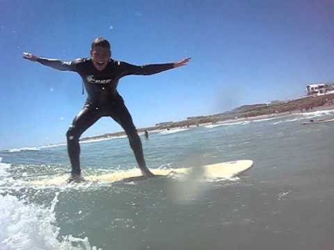 Michel Surfing South Africa's Big Bay!!