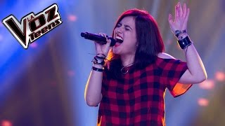 Morgana canta 'Don't cry' | Audiciones a ciegas | La Voz Teens Colombia 2016