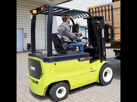 Fenie Brossette; chariot élévateur électrique CLARK EPX20 32i