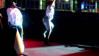 2011 Coppin State Homecoming: Female Student Dancing to DC Go Go Music!