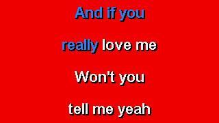 Stevie Wonder - If You Really Love Me - Karaoke