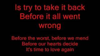 The Script-Before the worst-lyrics
